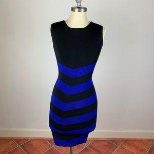 Ted Baker London Chevron Bodycon Dress